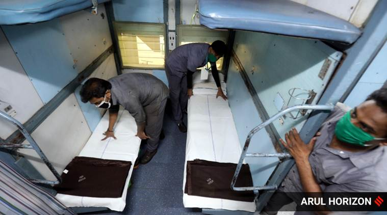 Coronavirus: Railways to convert 5,000 train coaches into isolation units for 80,000 patients