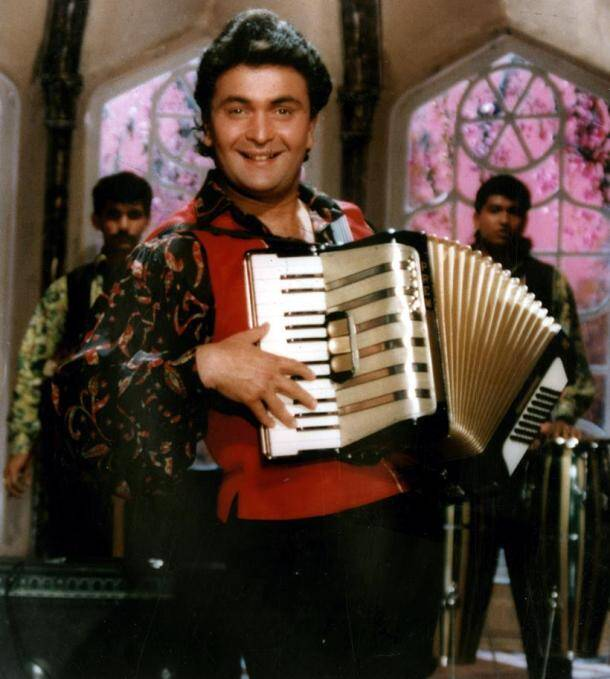 Rishi Kapoor in a still from Anmol