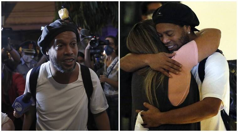 Ronaldinho released from Paraguay prison, set to serve house arrest in hotel