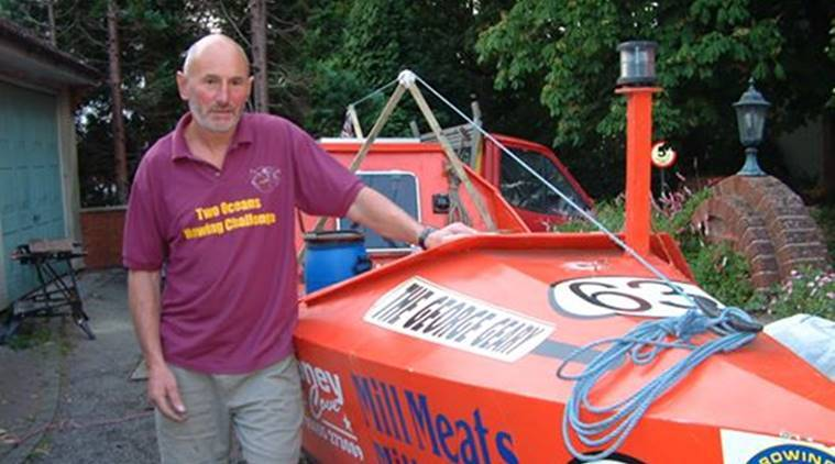 UK man completes solo trans-Atlantic rowing trip in 96 days, Graham Walters, Leicester