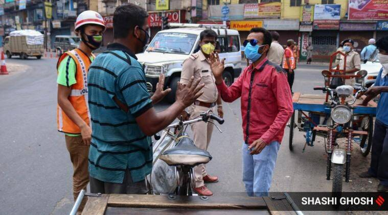 At coronavirus checkposts across India, a traffic jam of excuses