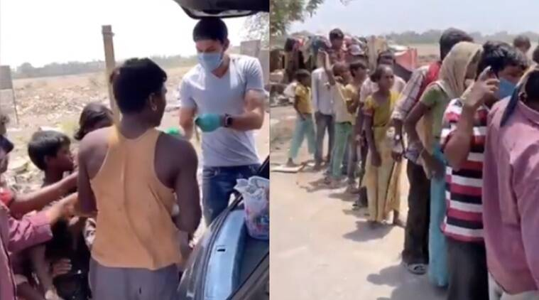 Sheldon Jackson distributes free meals to underprivileged, feeds stray dogs during coronavirus lockdown