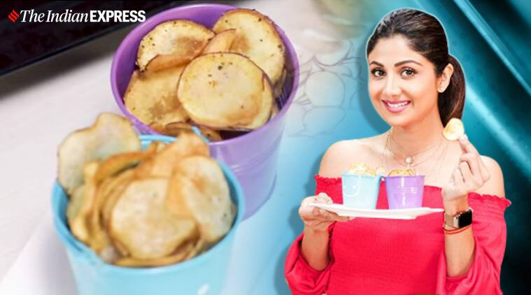 Try Shilpa Shetty's healthy chips recipe during work-from-home