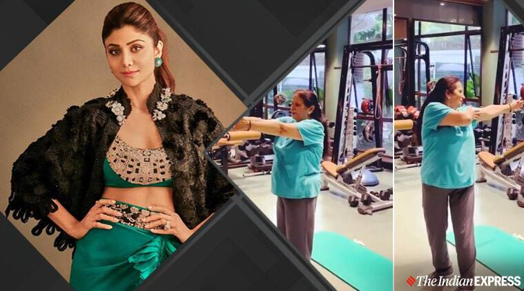 Shilpa Shetty shares inspiring video of her mom-in-law working out; watch