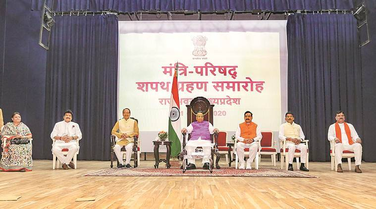 Two Scindia loyalists, 3 others add to CM Shivraj Chouhan's one-man MP ministry