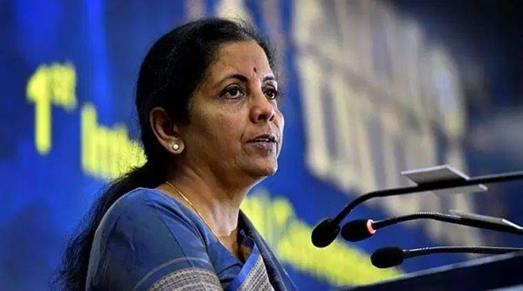 Nirmala sitharaman, Nirmala sitharaman on Nirav Modi, Mehul Choksi, Vijay Mallya, Nirmala sitharaman on loan waiver, Nirmala sitharaman on loan defaulters, Rahul Gandhi, Congress, Indian Express
