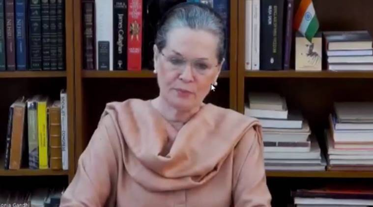 coronavirus, india coronavirus, sonia gandhi on coronavirus india lockdown, rahul gandhi on coronavirus, manmohan singh on coronavirus, cwc meeting, congress meeting on india lockdown, india lockdown