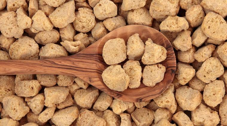 soya, soya chunks, health benefits of soya chunks, meat substitute, health, healthy eating, indian express, indian express news