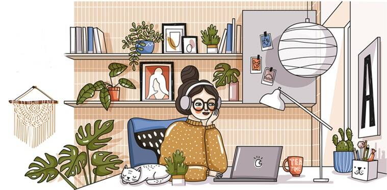 Simple ways to get your routine on point while you are at home