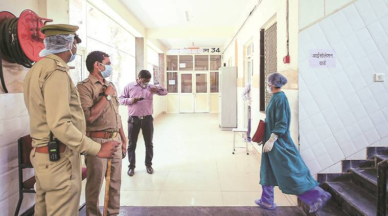 Delhi: Two Tablighis booked for 'urinating' in front of quarantine centre room