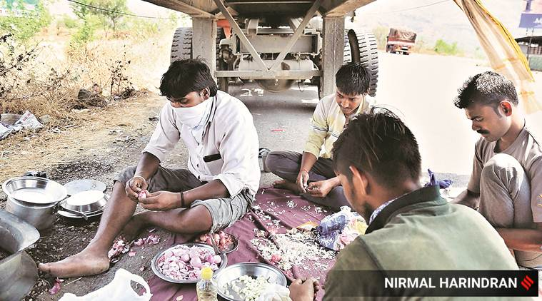 On Maharashtra highways, dhabas home for stranded truckers