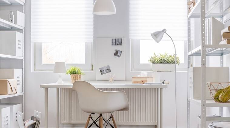 work from home, work form home decor, lighting for work station, correct table light, indian express news