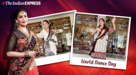 world dance day, dance day 2020, madhuri dixit nene, madhuri dixit, life lessons, lockdown dancing, dancing benefits, lessons to learn from madhuri,