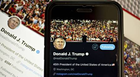 Twitter fact-checks Trump tweet for the first time