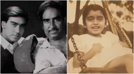 Celebrity throwback photos: Bhagyashree, Hina Khan, Ajay Devgn and others