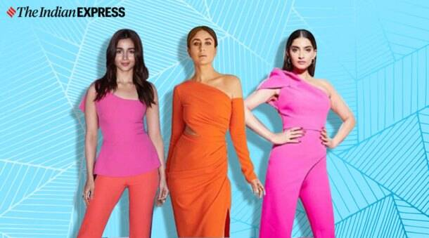 alia bhatt, kareena kapoor, alia bhatt neon colours, sonam kapoor neon colours, sonam kapoor neon colours, indian express, indian express news