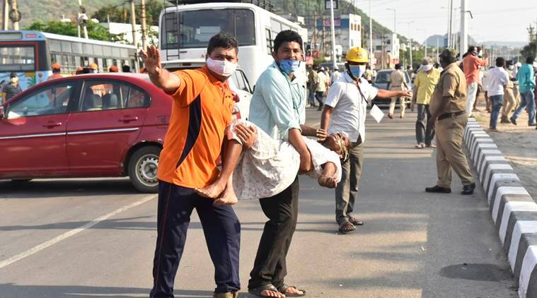 Visakhapatnam LG Polymers gas leakage: Thick air, pungent smell - all you need to know the incident