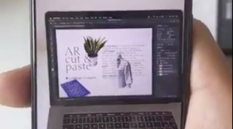 This Ar Tool Let S You Copy And Paste Real World Items To Your Pc Technology News The Indian Express
