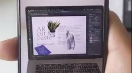 AR, Augmented Reality, Copy Paste object into Photoshop, Cut paste object into Photoshop, Photoshop AR, Augmented Reality image