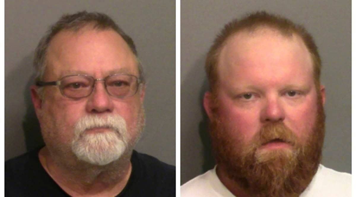 Father, son charged with killing black man Ahmaud Arbery
