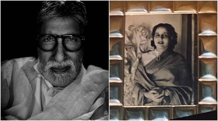 amitabh bachchan on mothers day