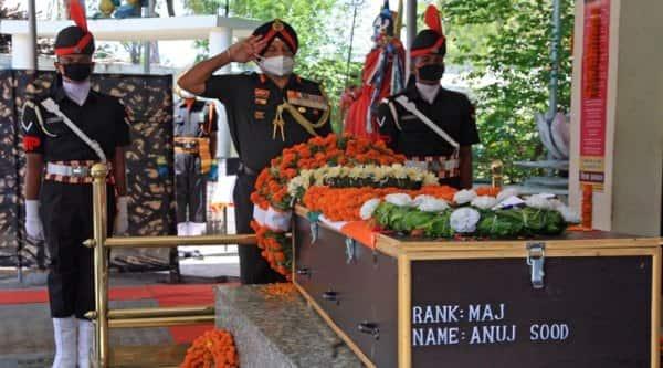 Major Anuj Sood, Handwara Counter Insurgency, Chandigarh