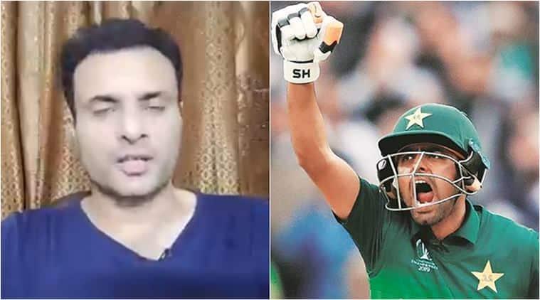 Babar Azam, Babar Azam english, Tanvir Ahmed, Babar Tanvir controversy, Pakistan cricketers english, Babar Azam angry, cricket news