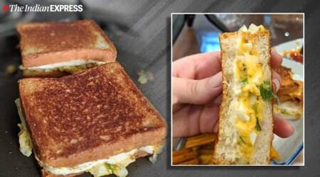 bread recipes, sandwich recipes, how to make a sandwich, egg sandwich recipe, anahita dhondy recipes, indianexpress.com, indianexpress,