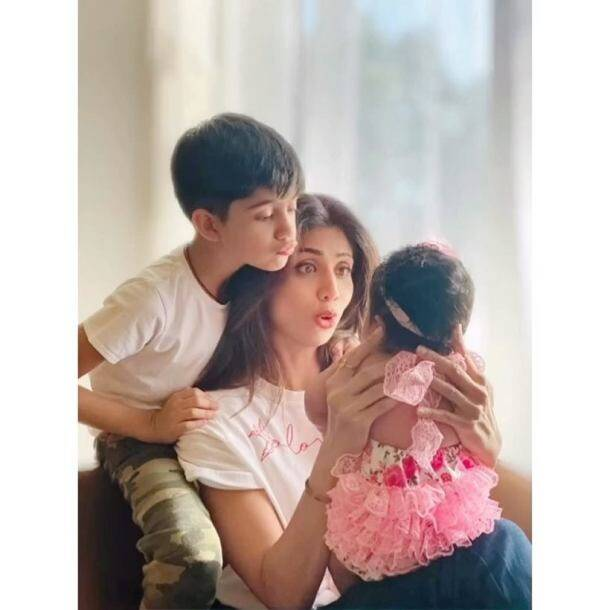 shilpa shetty on mother's day