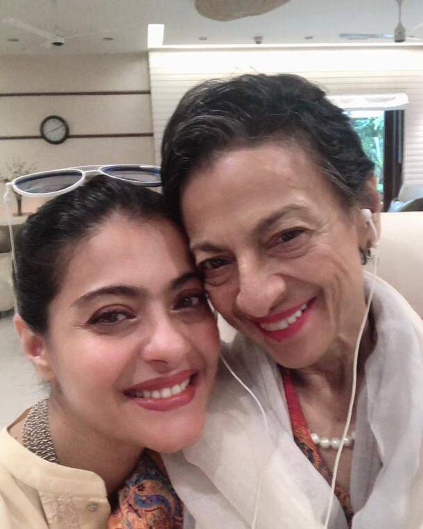 kajol on mother's day