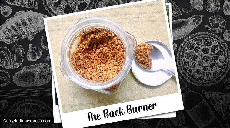 Kerala recipes, chutney powder, chammanthi podi, coconut recipes
