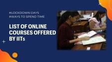 Online courses offered by IITs