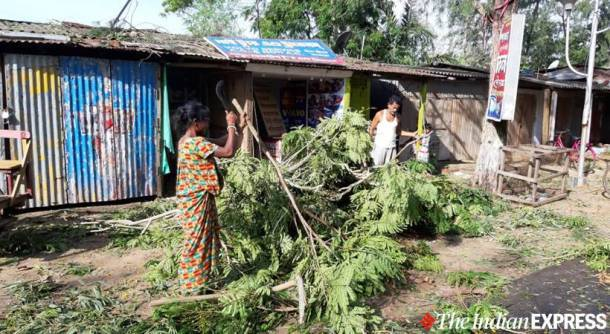 cyclone amphan in west bengal photos