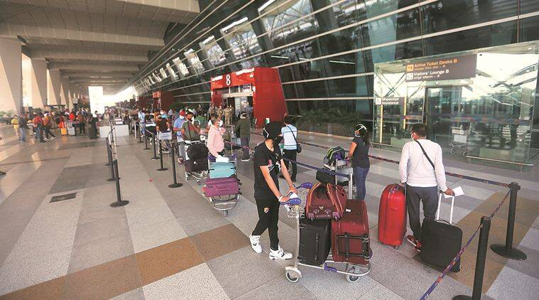 At IGI airport, tales of homecoming after months