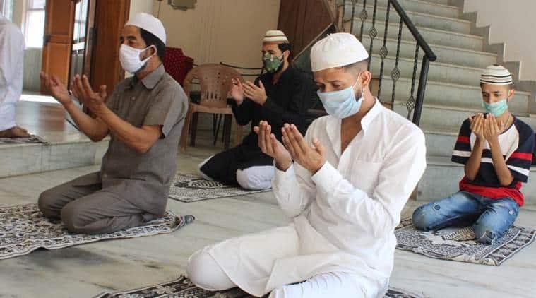 Covid-19 pandemic, eid celebrations, eid 2020, Eid prayers, Hyderabad news, Hyderabad flight, indian express