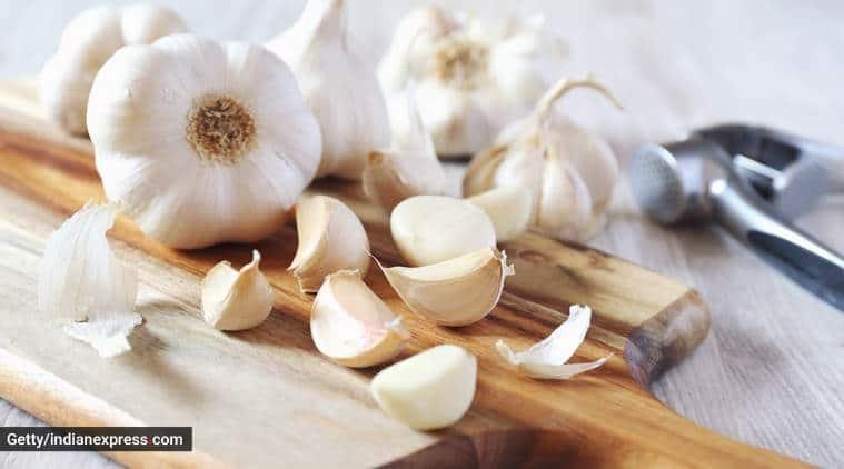 skincare, hair care, skincare DIYs using garlic, garlic for skin, garlic for hair, health and beauty, indian express, indian express news