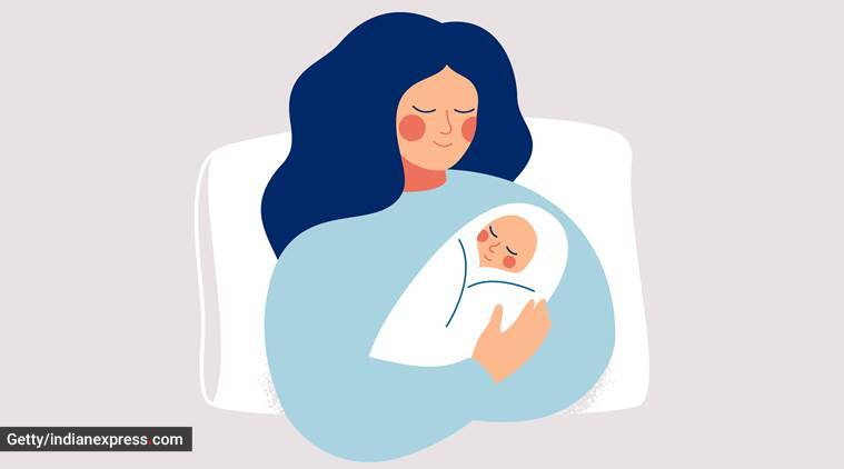 Mother's Day 2020, new mothers, new moms, lockdown pregnancy, lockdown delivery, lockdown babies, lockdown experience, parenting, indian express, indian express news