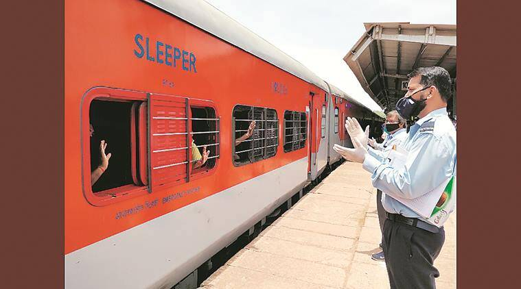 As Rajdhani arrives in Goa, most happy to be home, some object to Covid test charge