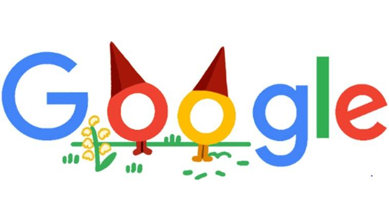 Google doodle, Google doodle celebrates garden gnomes, Stay and Play at Home with Popular Past Doodles, Garden gnomes mini-game, Google mini-games, Trending news, Indian Express news