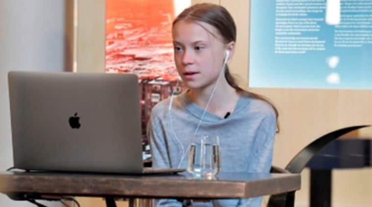 Greta Thunberg, CNN town hall, CNN coronavirus panel discussion, Greta Thunberg CNN panel discussion, CNN news channel, Coronavirus, COVID-19, Trending news, Indian Express news.