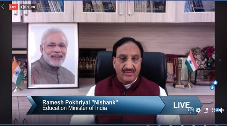 jee main, neet, cbse, new academic session, hrd minister goes live, education news