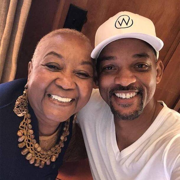 will smith on mother's day