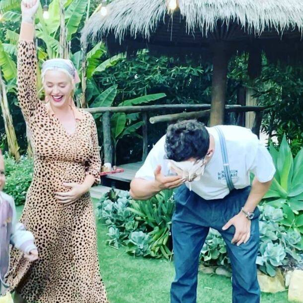 katy perry on mother's day