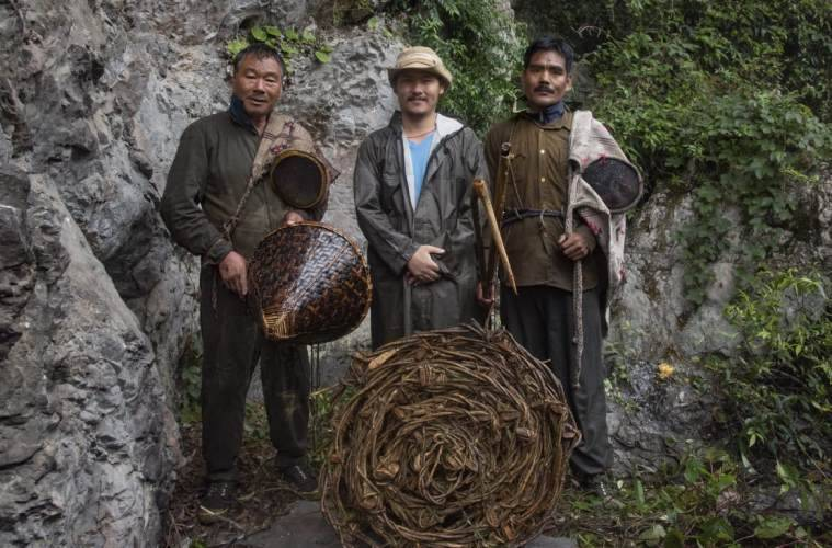 last honey hunters of arunchal pradesh, arunachal pradesh news, film on honey hunters, northeast news, indian express
