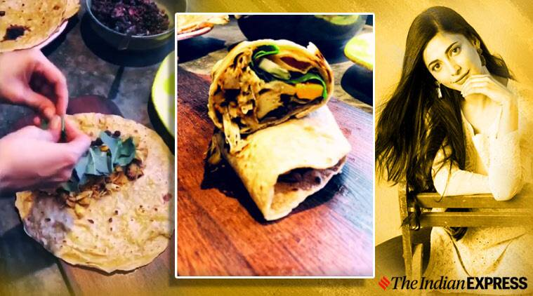 jackfruit wrap at home recipe shruti haasan jackfruit wrap healthy wrap options at home easy wrap veg recipes