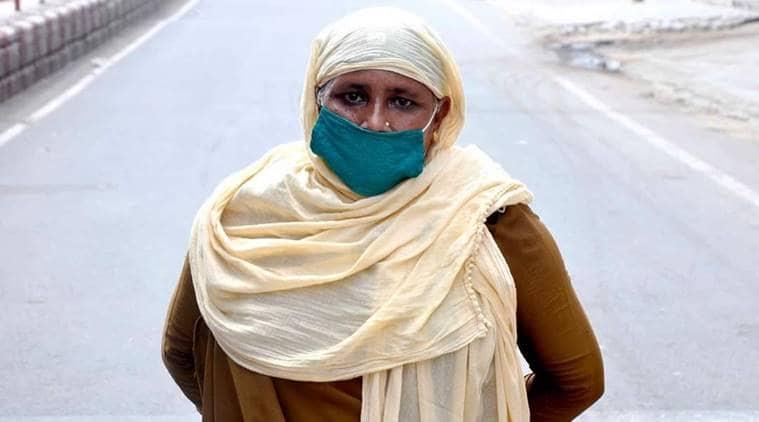 Coronavirus warrior, lady home guard, fight corona, Gujarat news, indian express news
