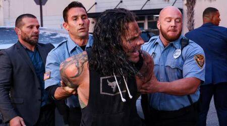 Jeff Hardy, Elias, Jeff Hardy arrested, Elias hostpitalised, Elias injury, Jeff Hardy hit and run, Jeff Hardy alcohol, WWE Smackdown 2020, WWE Intercontinental Championship