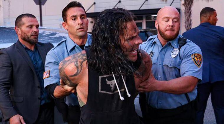 WWE superstar Jeff Hardy gets arrested for allegedly hitting Elias with car