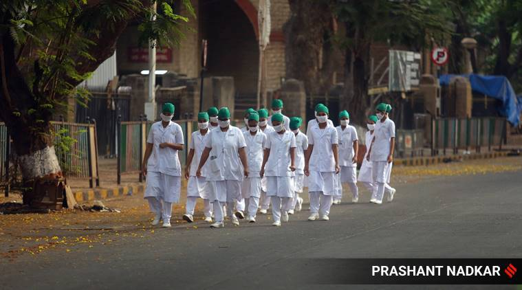 Coronavirus crisis, Kerala nurses, Maharashtra news, Pune news, Indian express news