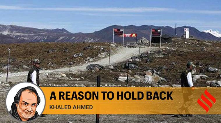 India China relations, India China dispute, India China border dispute, India China border, Ladakh, LAC, Line of Actual control, Khaled Ahmed writes, Express Opinion, Indian Express